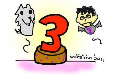 [Image: MyWolfSirius 3rd Anniversary 2011]