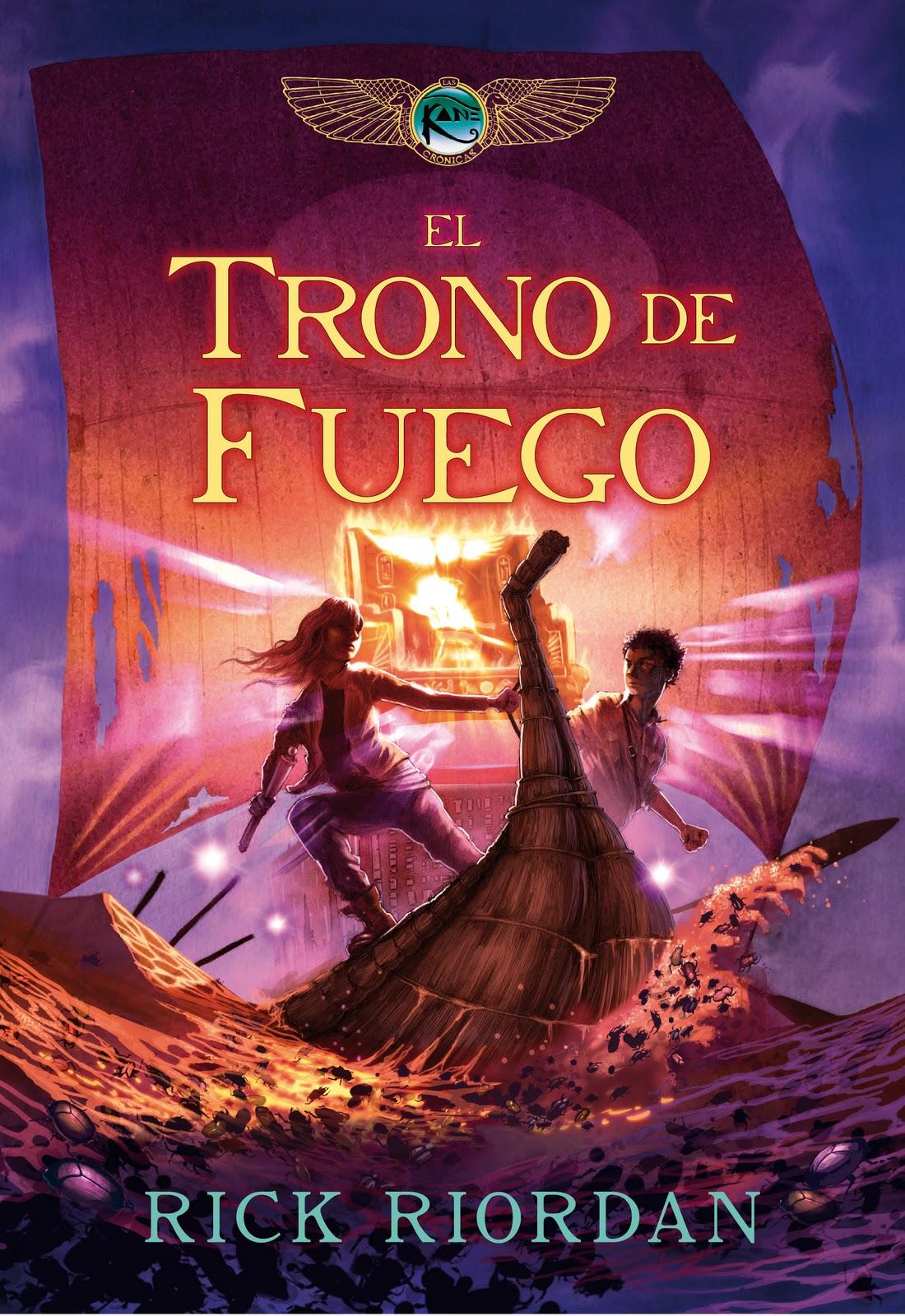 El Trono de Fuego, Rick Riordan