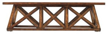 Stanley Furniture - Modern Craftsman Manhattan Low Bridge Table