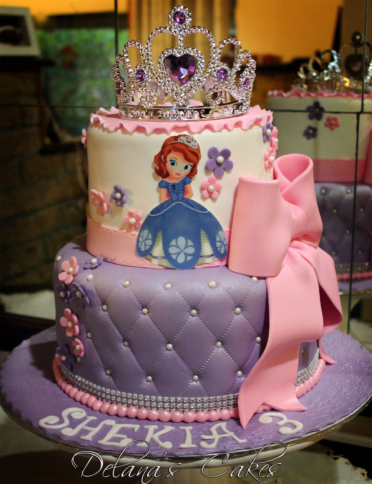 Cake Images Of Sofia The First : Delana s Cakes: Sofia the first Cake