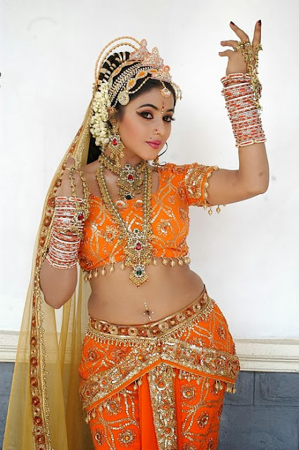 Poorna In Queen Make-Up