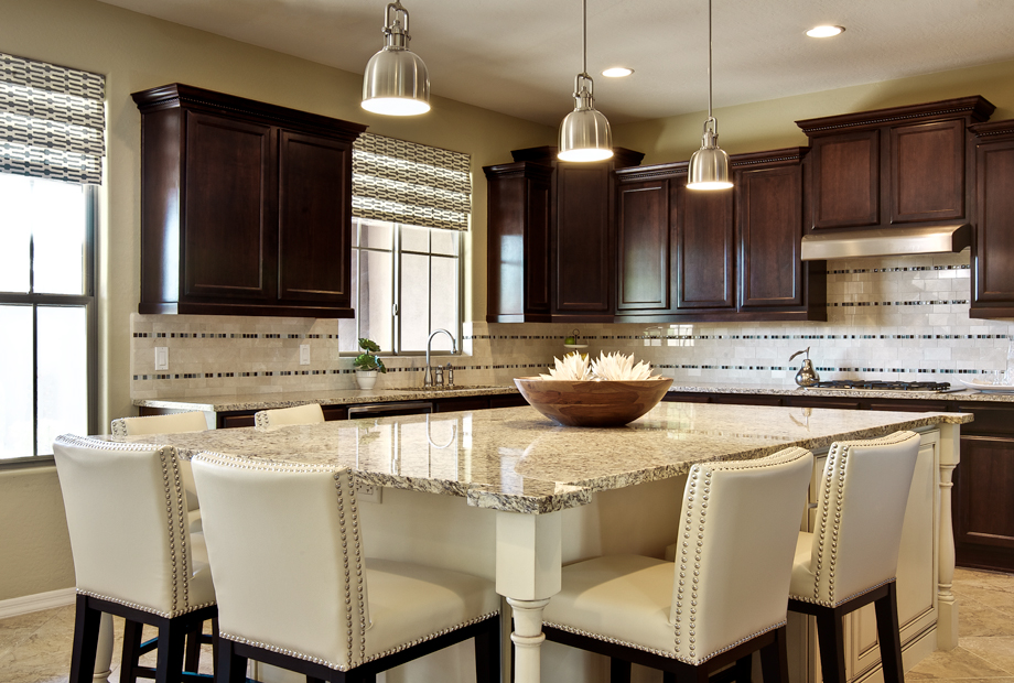 J j design group design life inspiration desert - Kitchen island designs with seating for 6 ...
