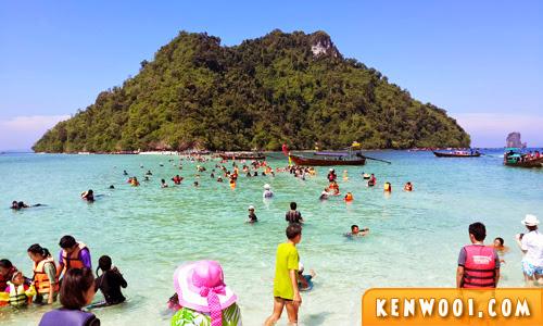 krabi tup island