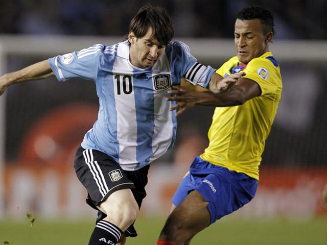 World Cup Qualifier 2014 - Ecuador vs Argentina