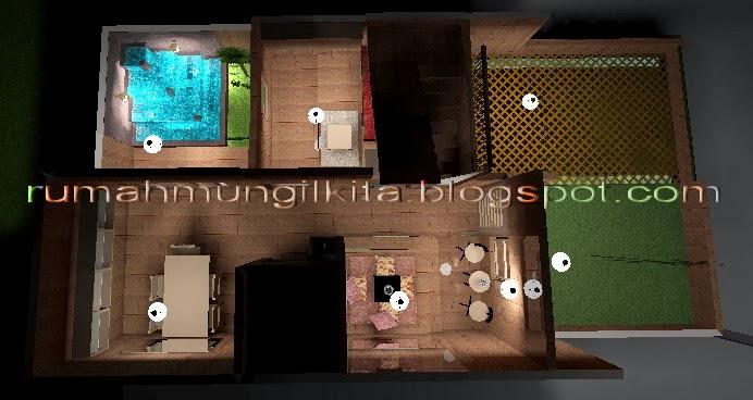 Renovasi Rumah Tipe 30 Tanah 72 m2