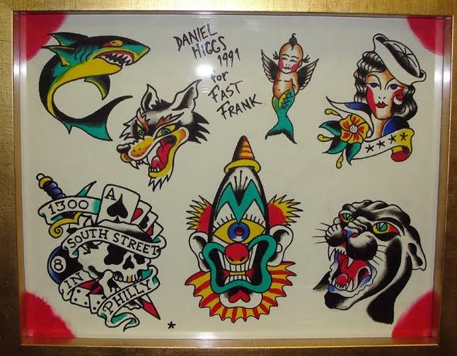 Dan Higgs Tattoo Designs