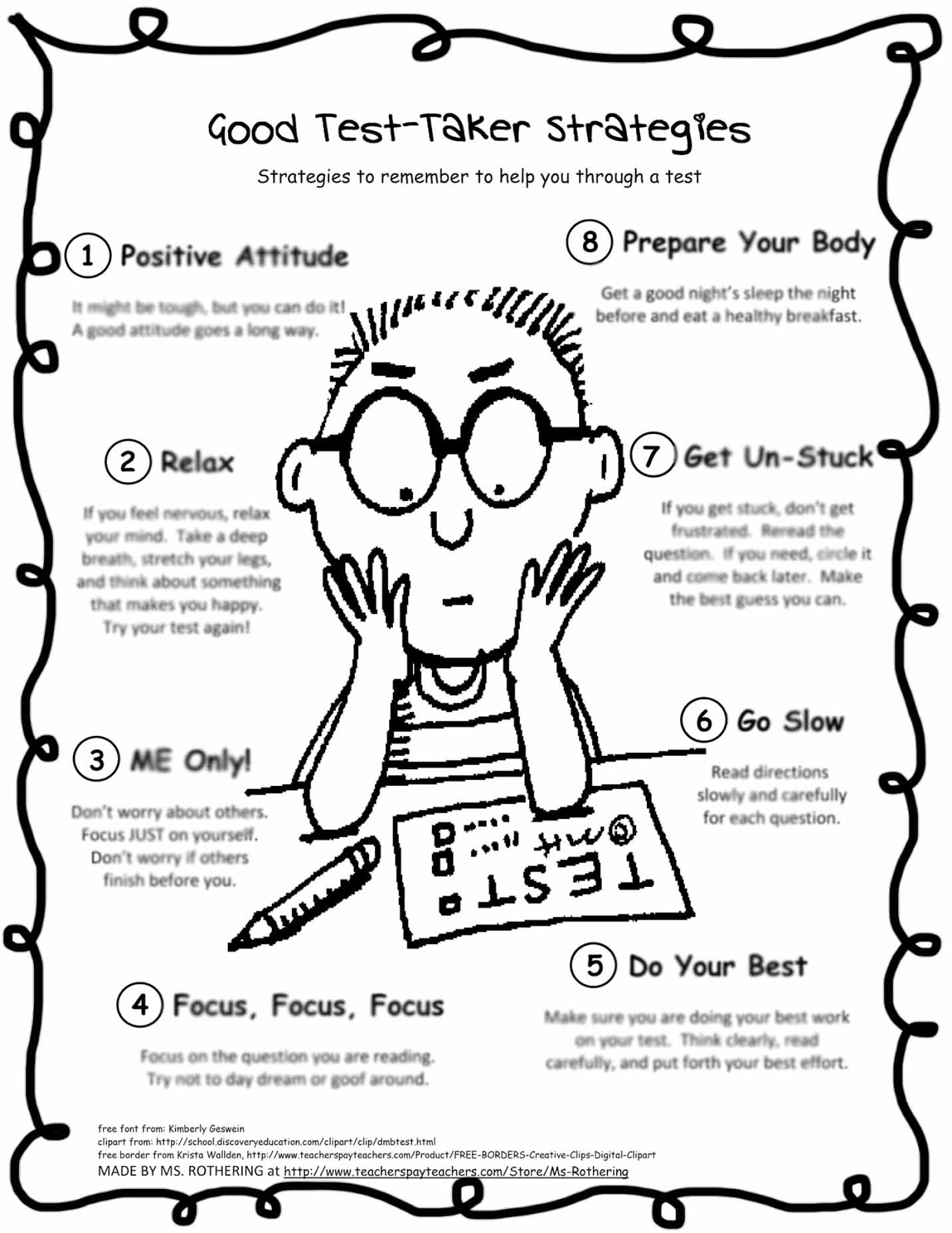 Printables Test Anxiety Worksheets test anxiety worksheets davezan davezan