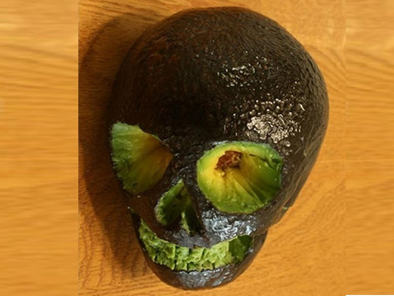 Avocado fruit carving pictures names a z with