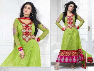 Ayesha Takia in Anarkali frocks