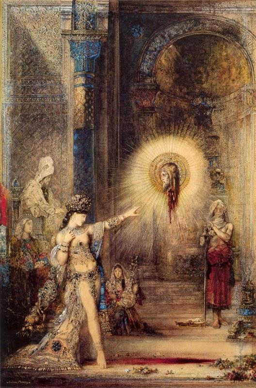 A Aparição, 1875, por Moreau | Aula particular de inglês com arte