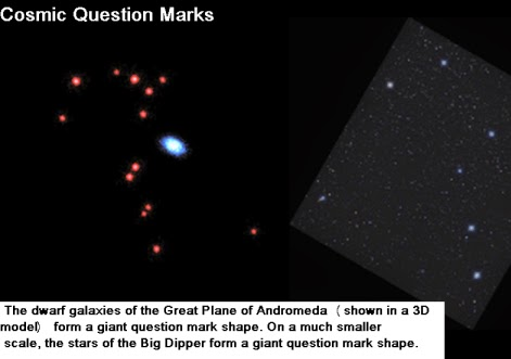 cosmic question mark