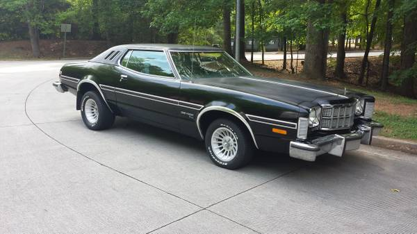 1974 gran torino elite for sale buy american muscle car. Black Bedroom Furniture Sets. Home Design Ideas