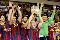 BALONMANO-Segundo título del año para el Barça