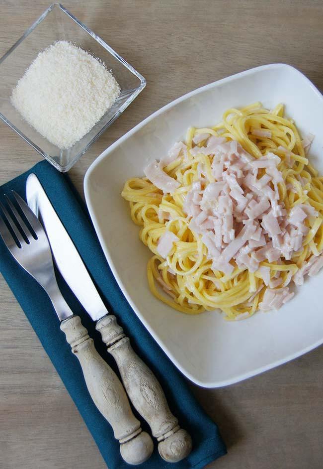 Miss lacraft receta salsa ligera de nata para la pasta - Salsas para pasta con nata ...