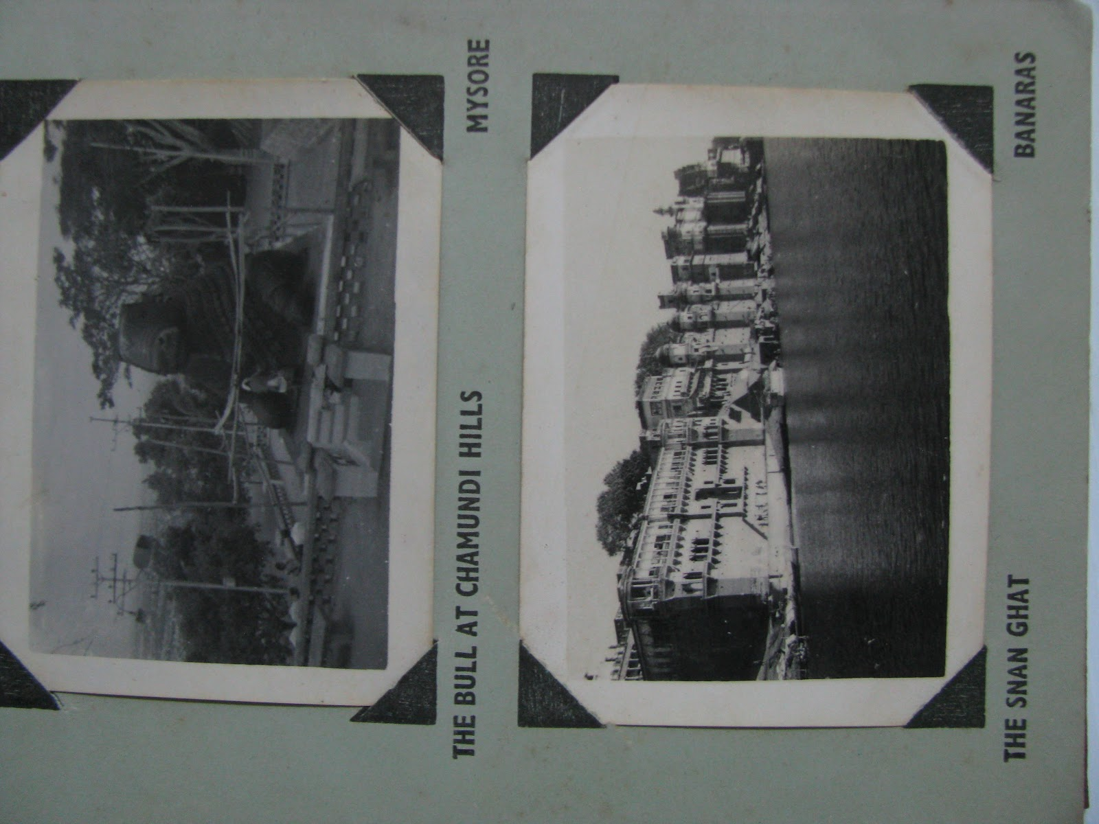 vintage photo album black pages