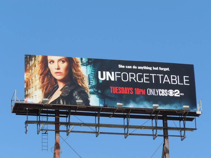 Unforgettable billboard