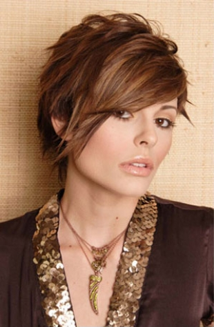 Cool Short Hair Cuts on Cool Short Hair Style   Hairstyles Pictures And Hair Styles Advice