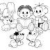 Desenhos - Dia do Livro Infantil para Colorir