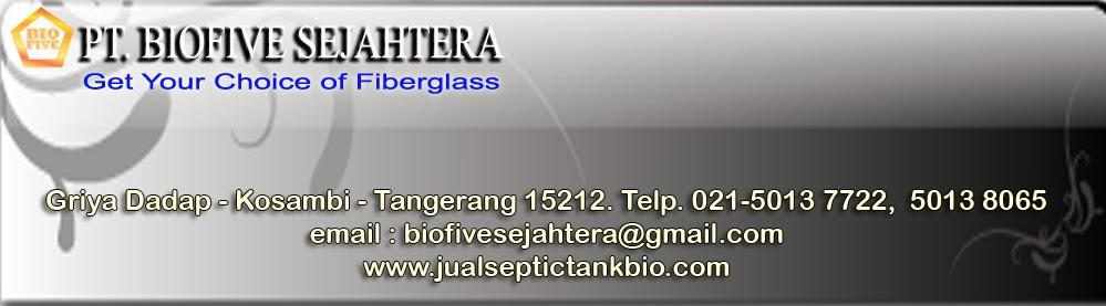 Septic tank biofil, biofive BFV series STP system