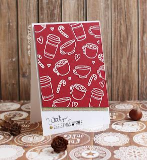 открытка ручной работы, новогодние открытки
