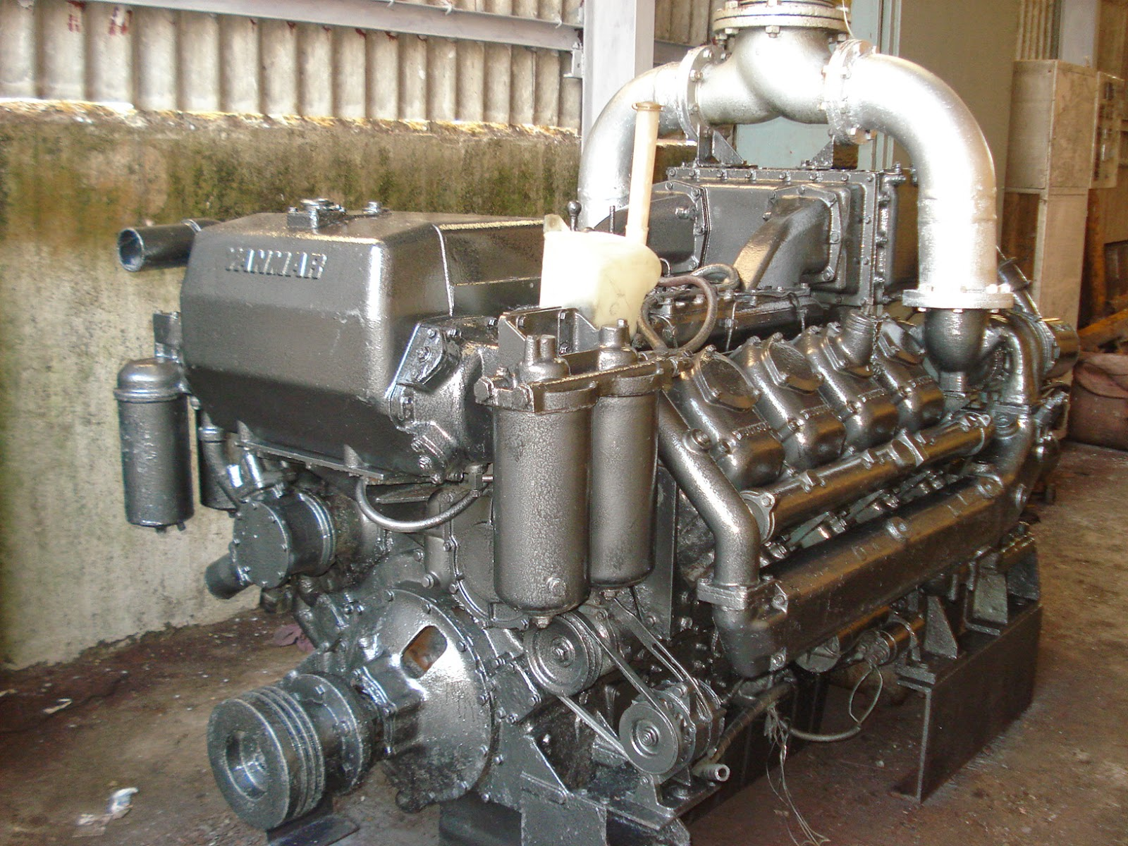 Yanmar Marine Engines and gearbox