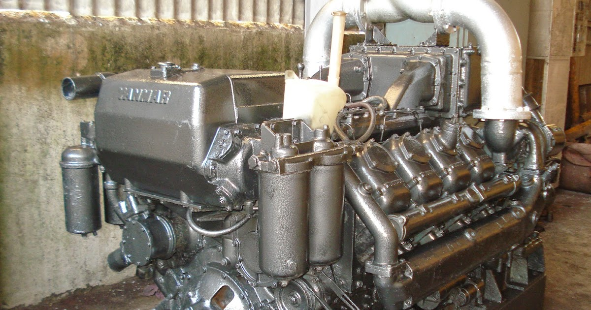Yanmar Propulsion Engine and Gearbox