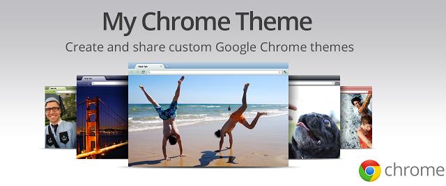 create google chrome theme