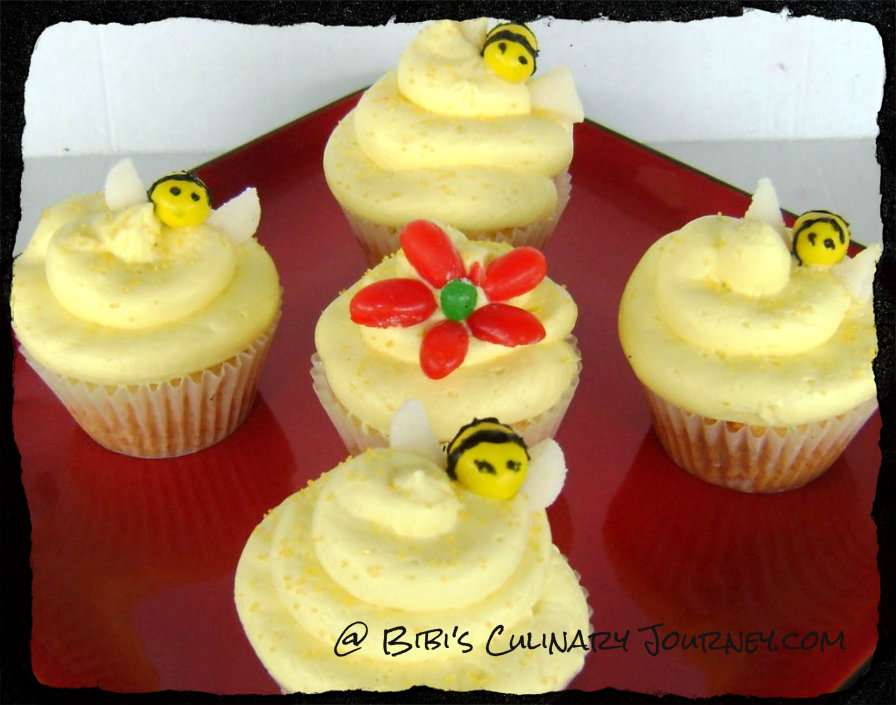 Honey Cupcakes Recipe — Dishmaps