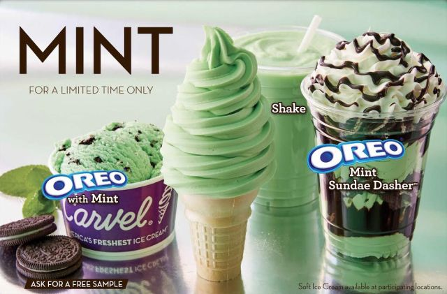 town ice cream and sandwiches chocolate mint oreo ice cream mint oreo ...