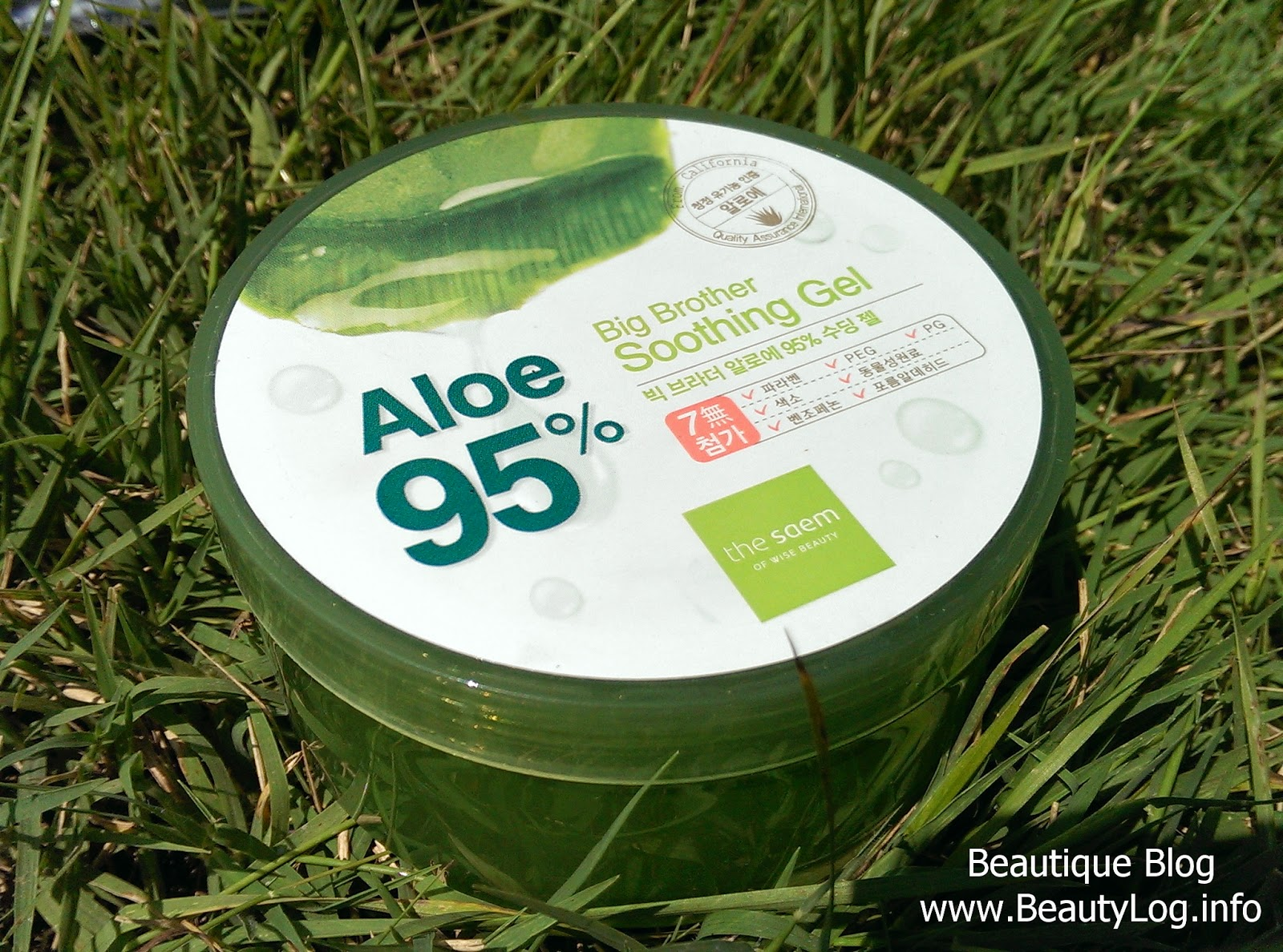 The Saem Big Brother Soothing Gel Aloe 95%