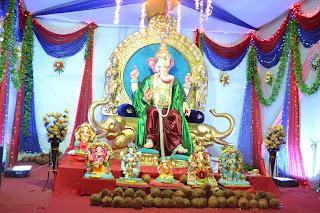Ganesh Chaturthi Festival Chauta Bazar 2012