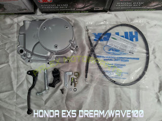 Honda wave 100 manual clutch conversion