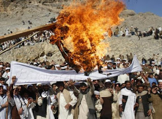 Obama apologizes for Quran burning as Afghan protests go on