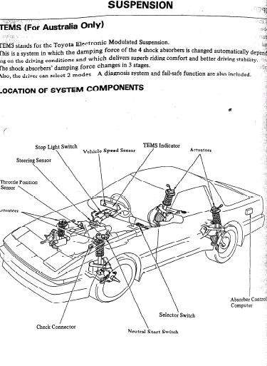1987 toyota supra engine diagram