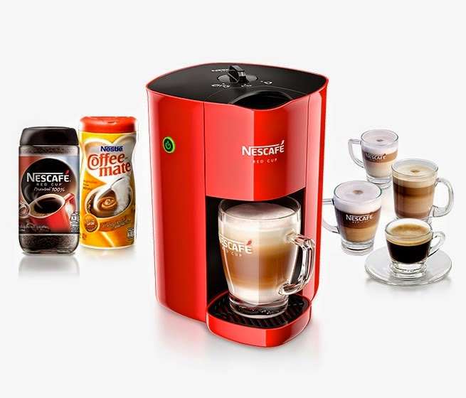 Nescafe RedCup Machine (Simple coffee machine)