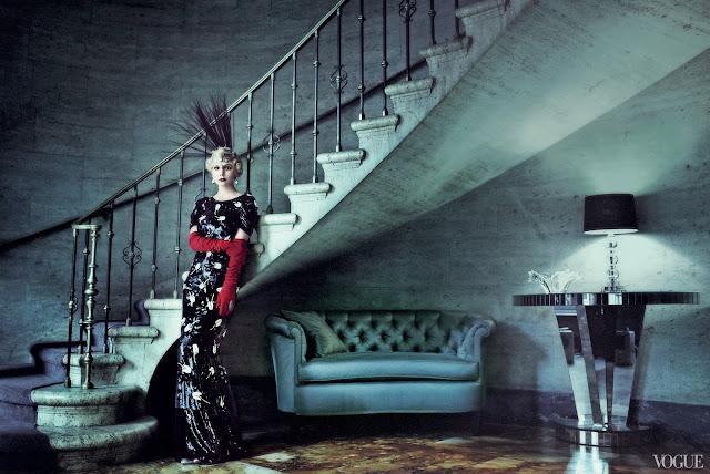 Carey Mulligan e Grande Gatsby para a Vogue Americana