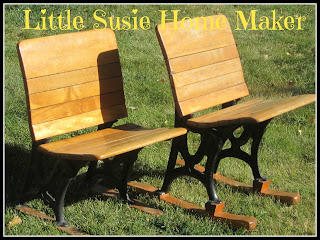 Little susie home maker antique folding chairs for Homemakers furniture illinois