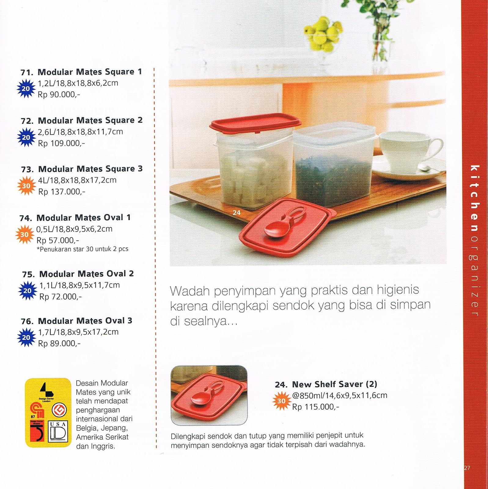 Katalog Reguler Terbaru Tupperware November 2012