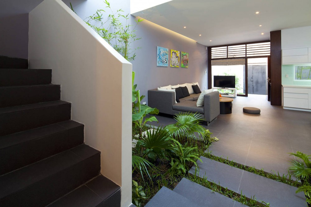 desain taman di dalam ruangan yang cantik dan efisien