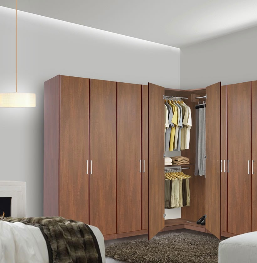 The corner wardrobe - your spacious solution for the ...