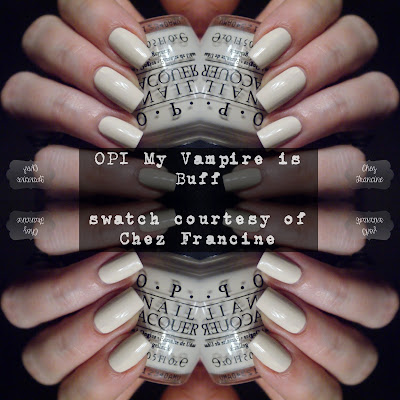 OPI My Vampire is Buff from Chez Francince