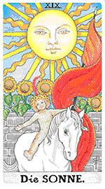 Значение на Таро карта ХIX Слънцето - хороскоп за 2015 година