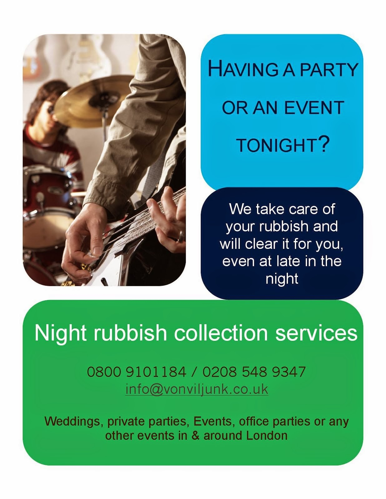 Night Rubbish Collections