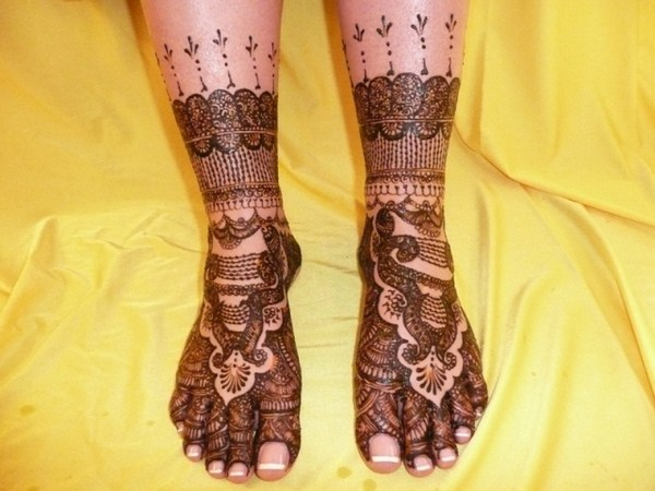 Mehndi For Dulhan Foot : Dulhan foot mehndi designs naina jee bridal dresess