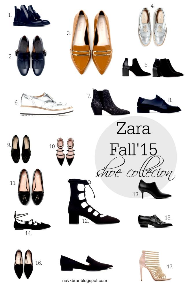 Fall'15 shoes and boots from ZARA navkbrar.blogspot.com