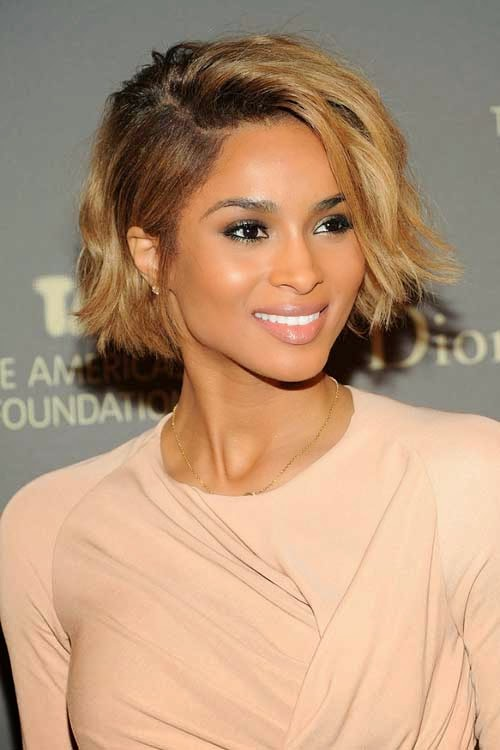 Astonishing Top 10 Celebrities Short Haircuts 2015 Jere Haircuts Short Hairstyles For Black Women Fulllsitofus