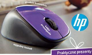 Mysz bezprzewodowa HP z czujnikiem laserowym z Biedronki