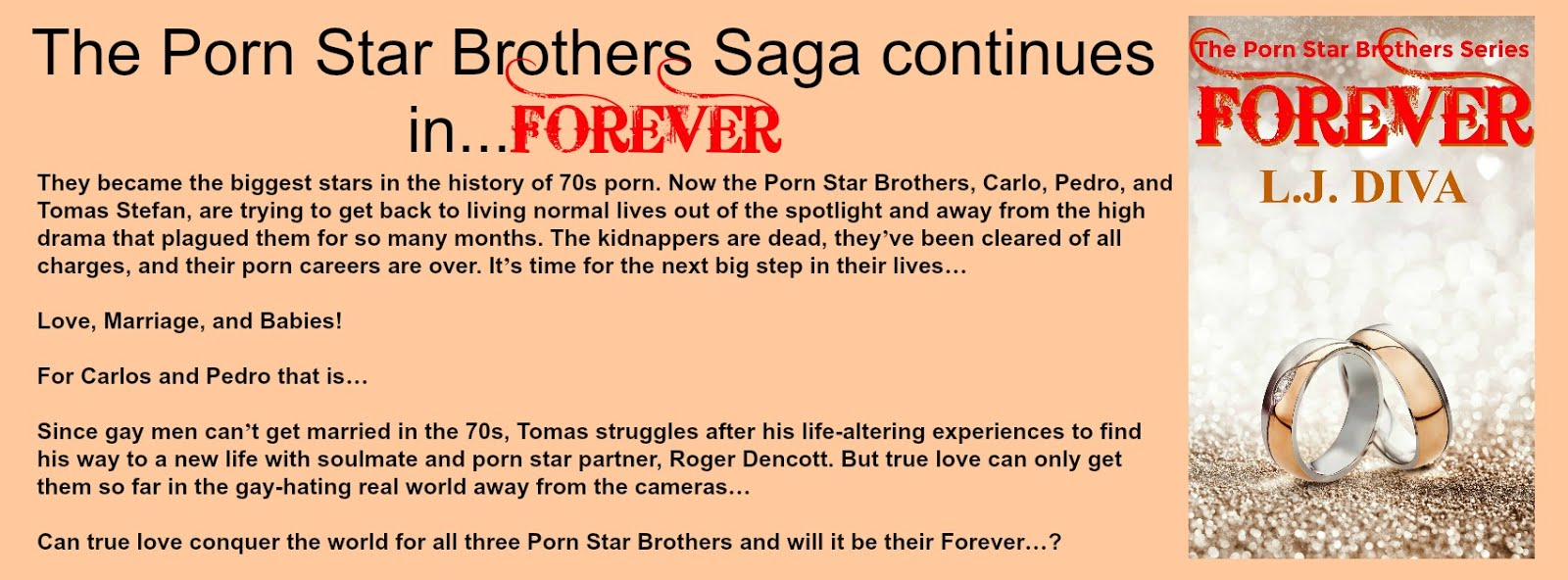THE NEW PORN STAR BROTHERS NOVEL...FOREVER...IS OUT NOW!!!!!