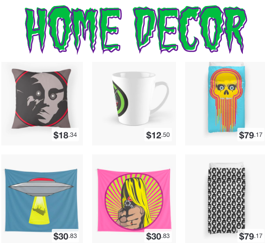 Pillows, Clocks, Mugs and More!
