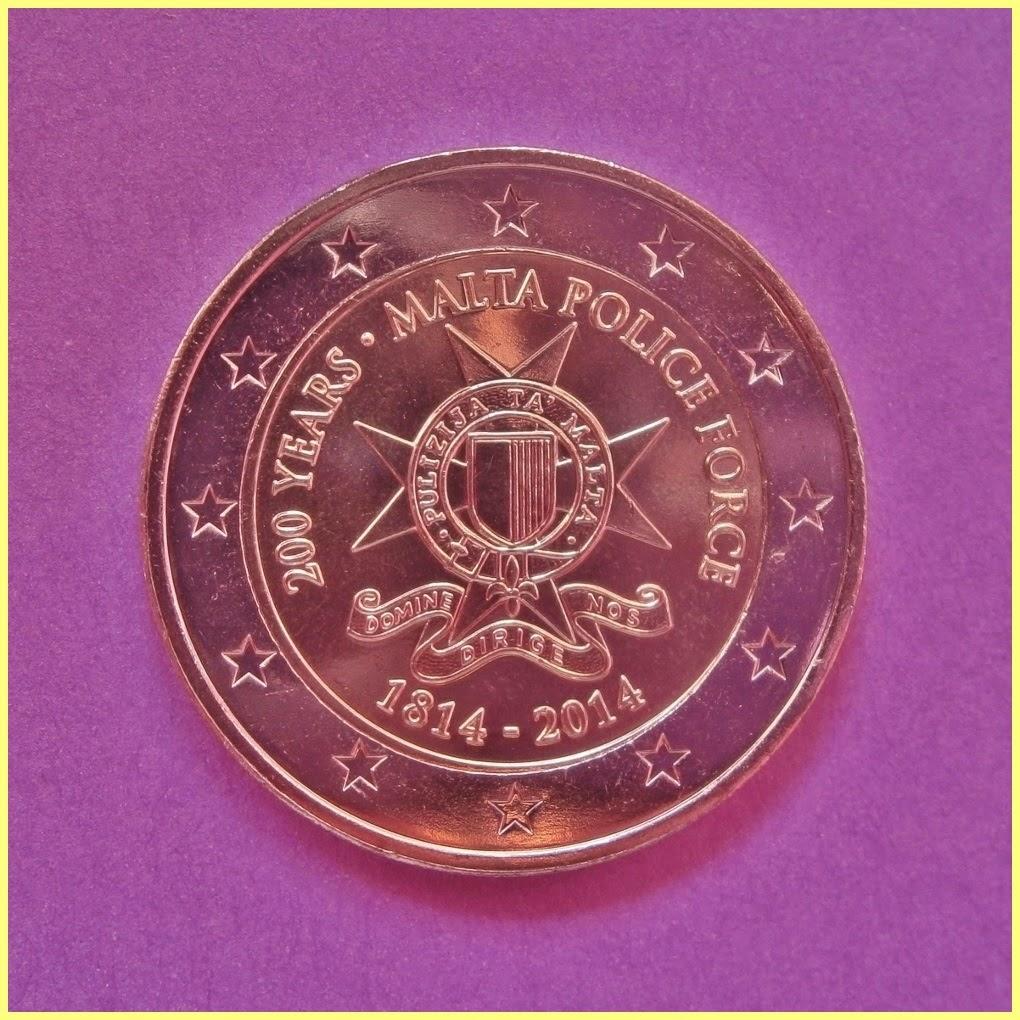 2 Euros Malta 2014